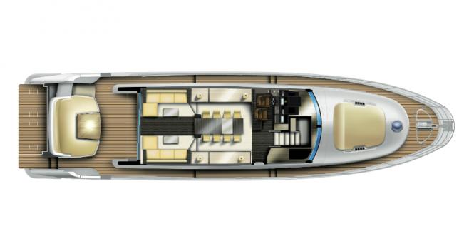 Motor Yacht Azimut 72S Maindeck