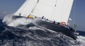 Mystery Yacht - Rolex Swan Cup 2010 - Image credit to Carlo Borlenghi