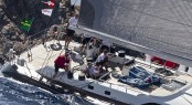 NIKATA sailing yacht at Rolex Swan Cup 2010 - Image credit to Carlo Borlenghi
