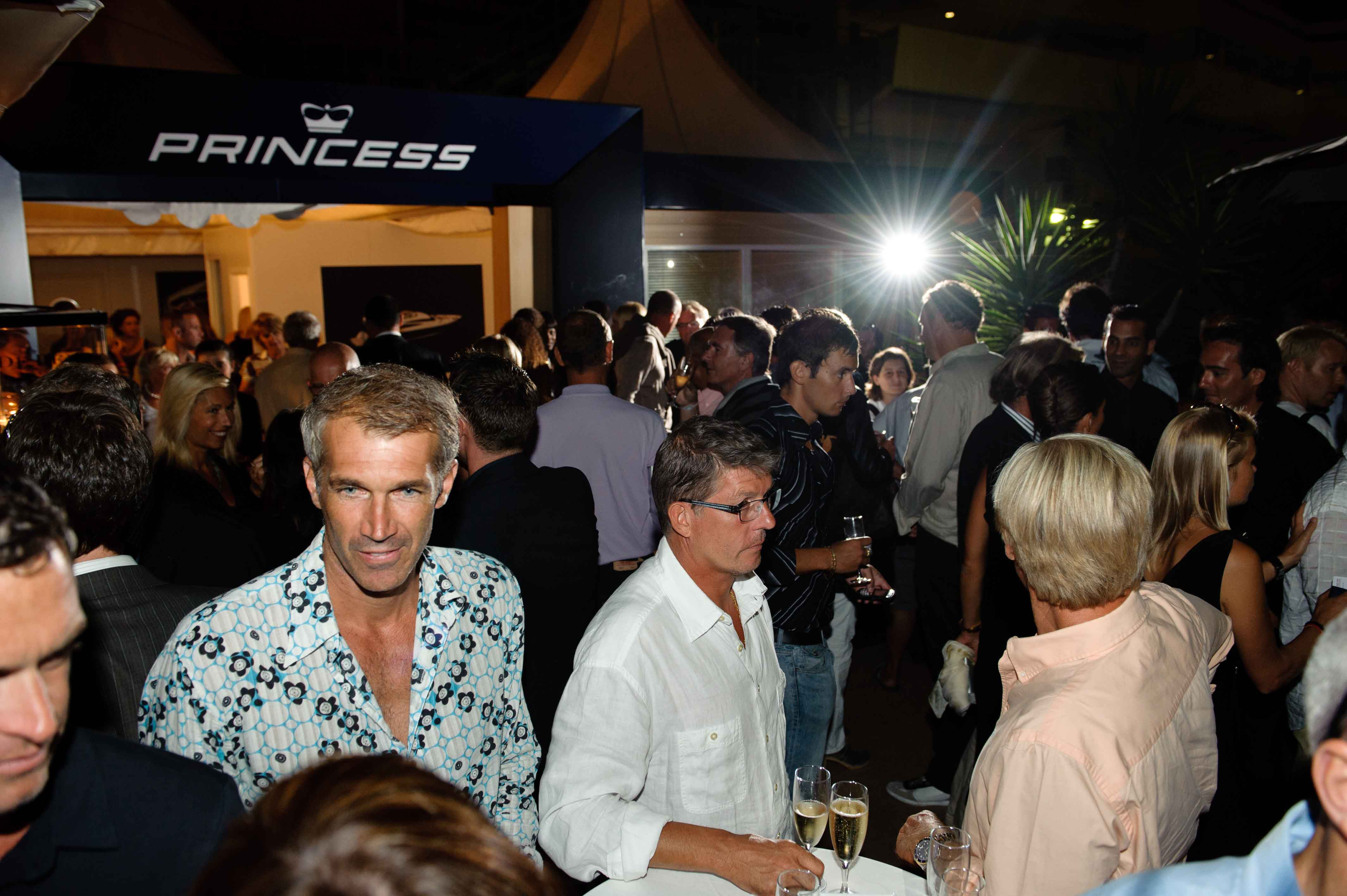 Princess Yachts' Glamour Evening in Cannes · New Princess V52 motor yacht at ...