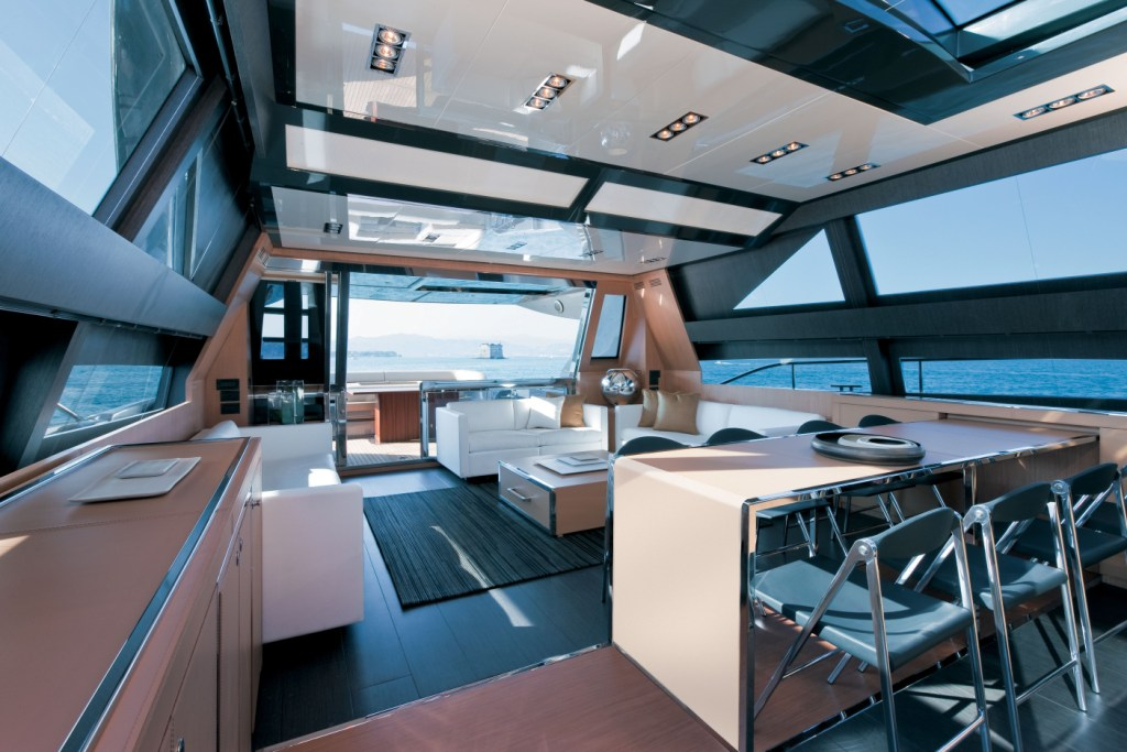 This image is featured as part of the article Riva 86′ Domino Yacht unveiled ...
