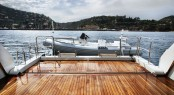 Sanlorenzo's first steel megayacht The 46 Steel super yacht Lammouche Beach Club - Photo Credit Sanlorenzo
