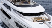 Sanlorenzo's first steel megayacht The 46 Steel super yacht Lammouche Forward - Photo Credit Sanlorenzo