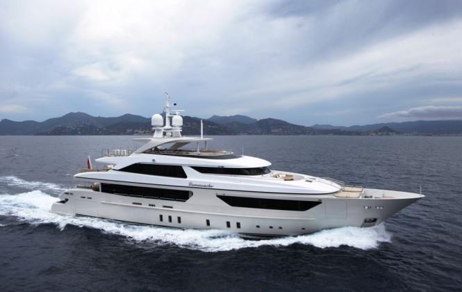 Sanlorenzo's first steel megayacht The 46 Steel super yacht Lammouche ...