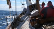 Southampton Yacht Services - Recently refitted classic sailing yacht Alinda V