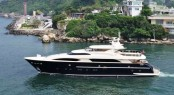 The Horizon Group�s 38m Espresso superyacht - Photo Credit Horizon Yachts