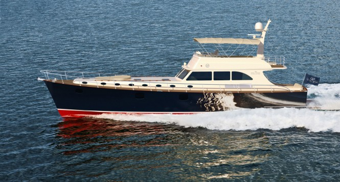 Vicem Yachts new 75 Flybridge motor yacht