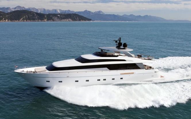 2010 Sanlorenzo SL100 New flying bridge motor yacht
