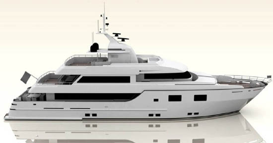 35m motor yacht Project Courage by Lübeck Yachts - Credit Lubeck Yachts