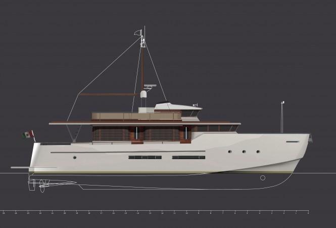 Aicon Yacht presents the new Morgan 80 House Motor Yacht