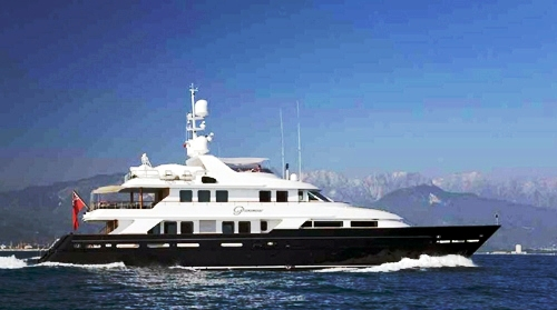 Charter Yacht Paramour