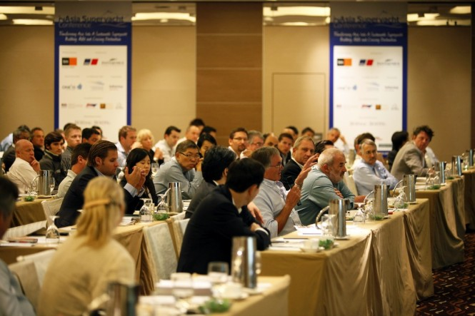 Conference Day  at the 2nd Asia Superyacht Conference