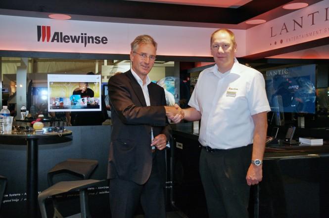 Dick Alewijnse & Kees van Doorn Sep10 - Credit Alewijnse Marine Systems