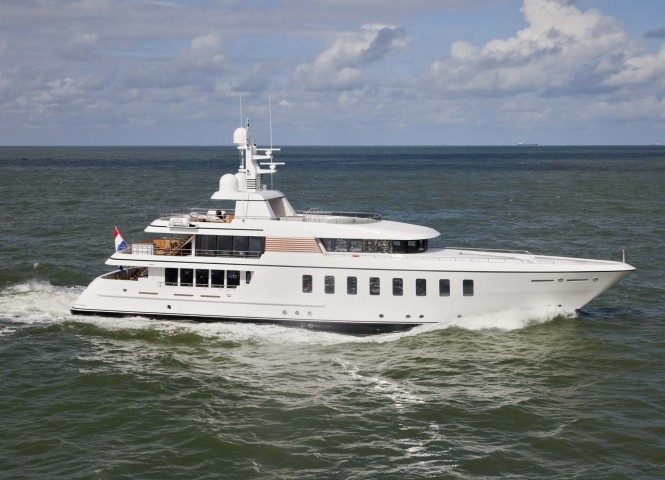 Feadship sells super yacht Gladiator (ex Sirius) F45
