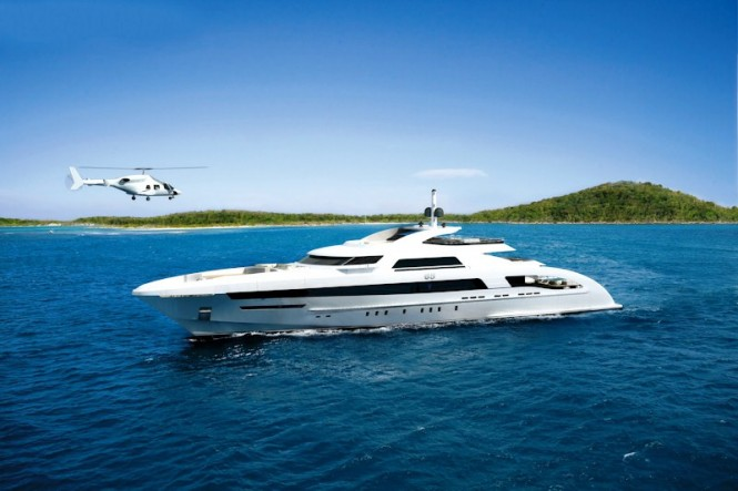 Heesen Yachts new 65m Fast Displacement Hull Form (FDHF) Superyacht which will be delivered in June 2013.