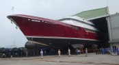 MCC Superyacht MAZU launched - Credit Maritime Concept and Construction