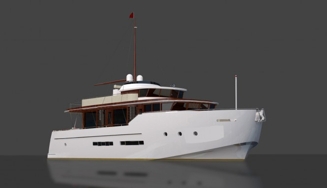 Morgan Yachts unveiled their new Morgan 80 House Yacht at the 50th ...