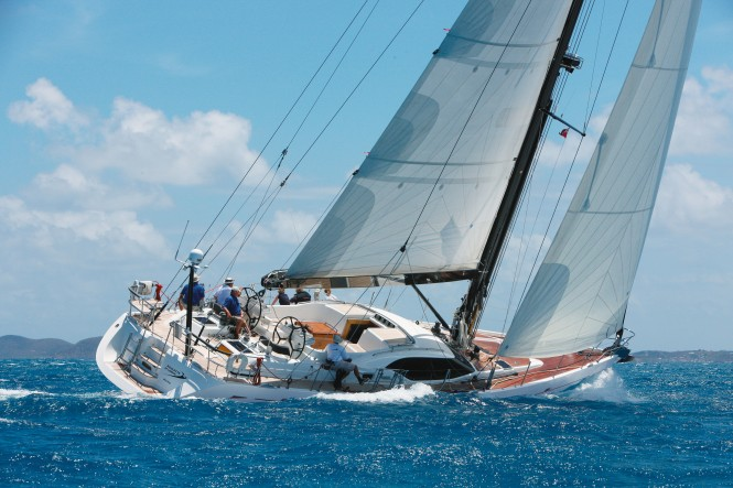 Oyster 655 Sailing Yacht - Image credit to Oyster Marine