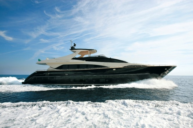 ... Ferretti 570 and Bertram 540 among an impressive fleet of 16 yachts.