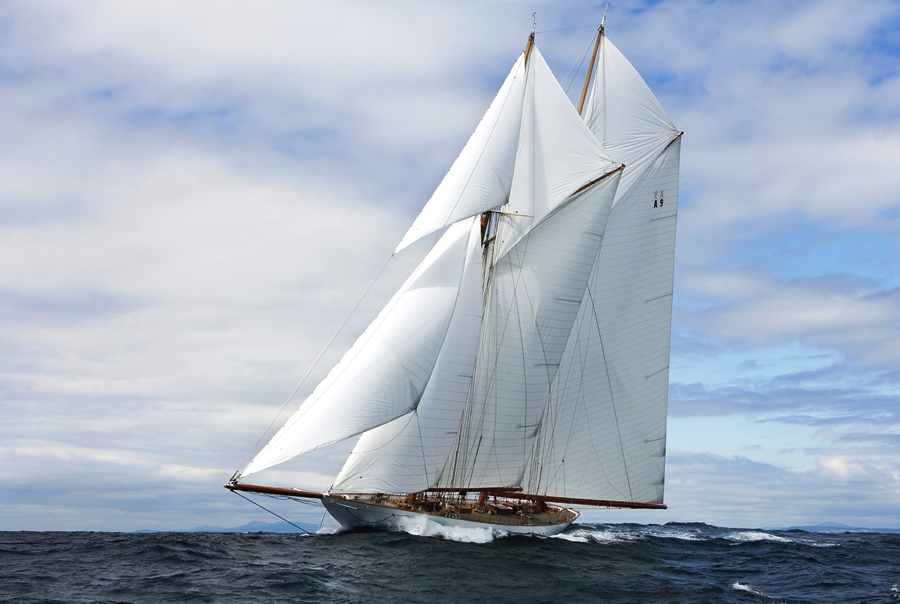Sailing Schooner Elena Courtesy Of Ron Valent Yacht