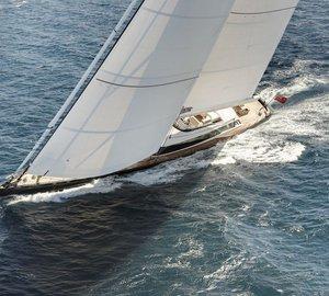 Superyacht Kokomo wins ISS award for best sailing yacht over 40m