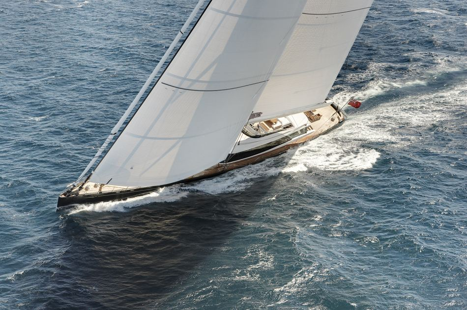 Superyacht Kokomo wins ISS award for best sailing yacht over 40m ...