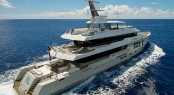 Superyacht BIG FISH built by McMullen & Wing shipyard New Zealand Nominated for Asia Boating Awards 2011