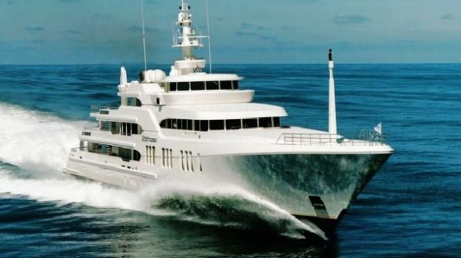 Superyacht Ecstasea - Credit Feadship