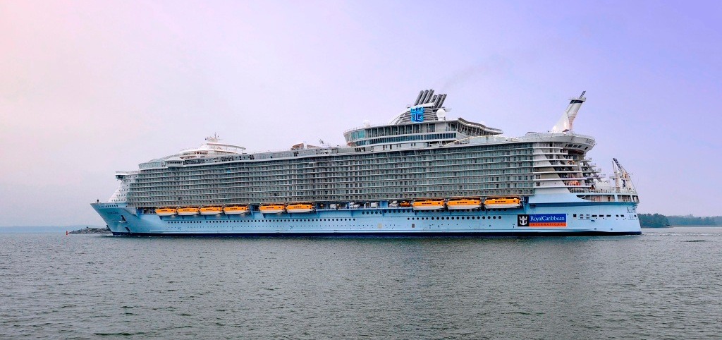 The Allure Of The Seas Delivered From Turku Shipyard To
