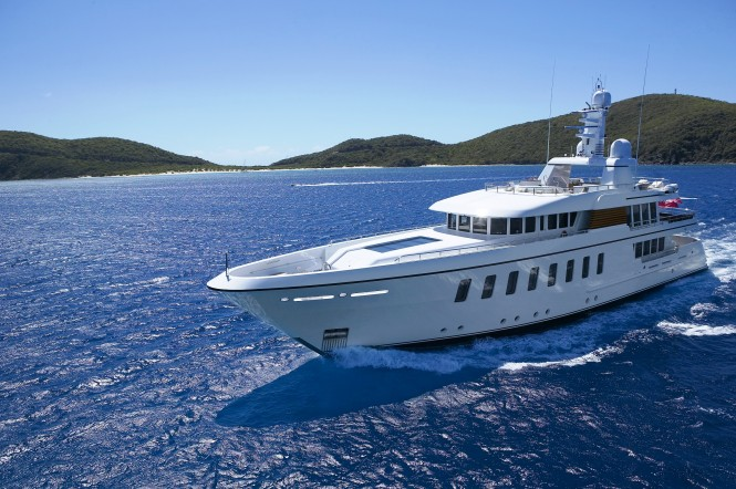 The Feadship built F45 motor yacht Gladiator (ex Sirius )