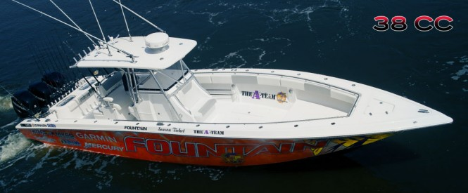The Fountain 38CC - Credit Fountain Powerboats