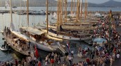 Unique ambiance during the event at Les Voiles de Saint-Tropez Photo credit Rolex  Carlo Borlenghi