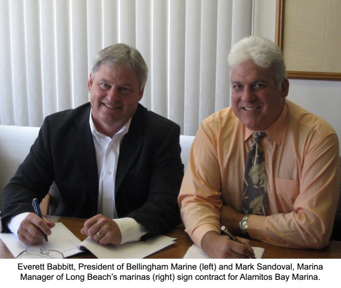 Bellingham Marine signs contract to rebuild Alamitos Bay Marina, California