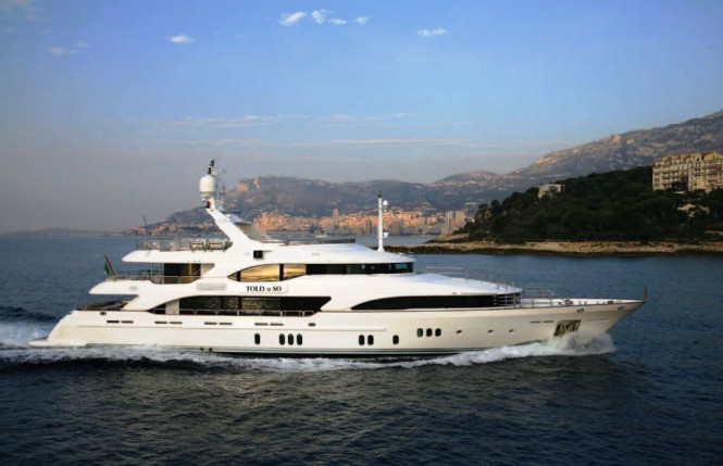 Benetti Vision 145 motor yacht Told U So by Benetti Yachts and Molori Design.