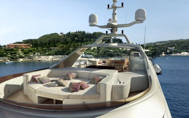 Benetti Vision 145 motor yacht Told u So Sundeck