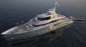 Construction begins on Explorer Superyacht Star Fish by Aquos Series & McMullen & Wing