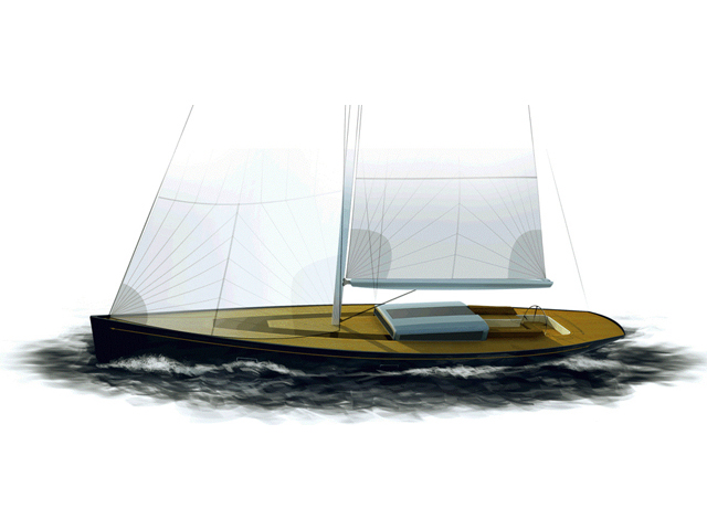 Frers 88 sailing yacht Tulip
