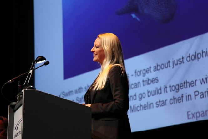 Global Superyacht Forum 2010 Tine Willumsen presents
