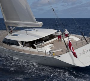 Sailing yacht Zefira by Fitzroy Yachts, Dubois Naval Architects and Remi Tessier