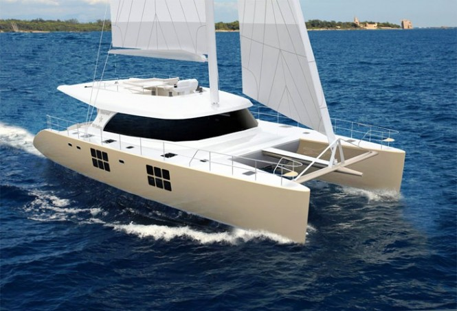 Sunreef 58 sailing Catamaran – Credit Sunreef Yachts