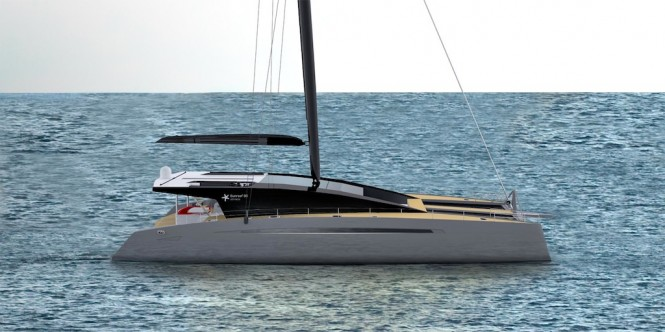 Sunreef 80 Ultimate Sailing Catamaran.