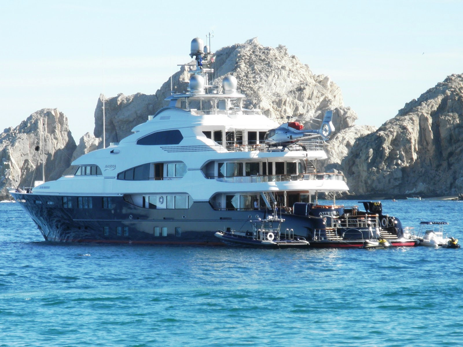 Attessa Iv Yacht Launch In Canada The Largest Ever In North