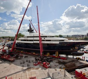 Superyacht Seven Seas delivered by Oceanco