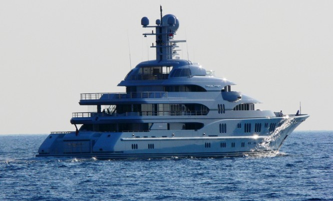 Superyacht TV in the Mediterranean