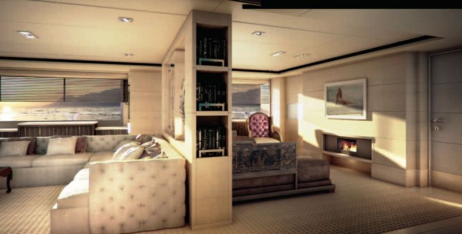 Superyacht Told U So Main Salon (alternate view)
