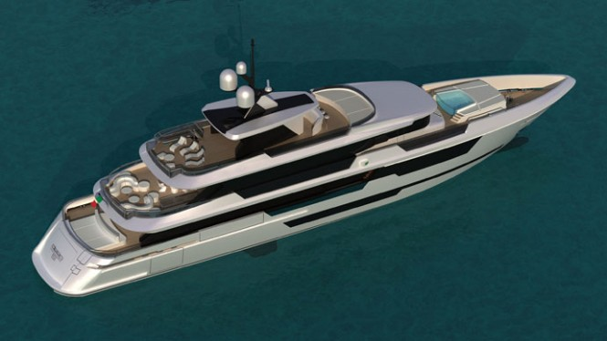 Superyacht project Deep 51 by Mondo Marine and Giugiaro Architettura