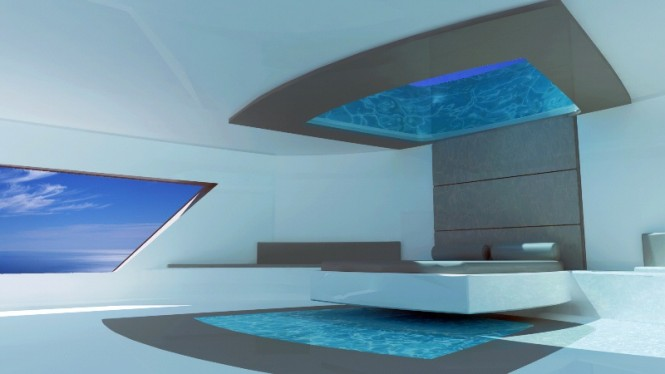 Motor yacht project Deep 51 by Mondo Marine and Giugiaro Architettura