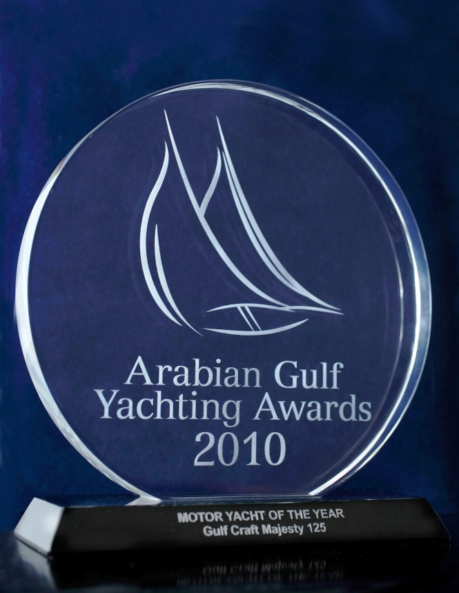 The Arabian Gulf Yachting Awards in 2010