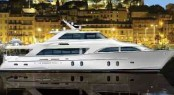 The Global 103�s Pilothouse design by Cheoy Lee available in 2011