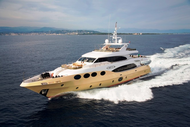 The Majesty 125 Motor Yacht